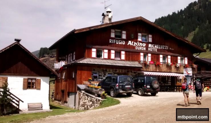 Rifugio Micheluzzi Val Duron