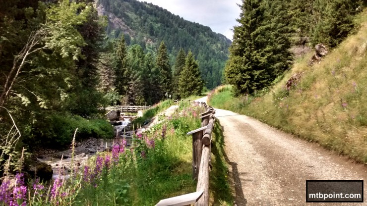 Torrente in Val Duron