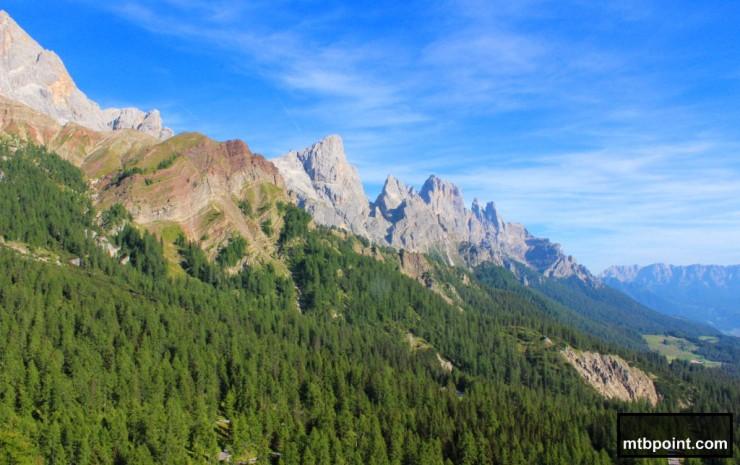 San Martino di Castrozza da Salita Passo Rolle